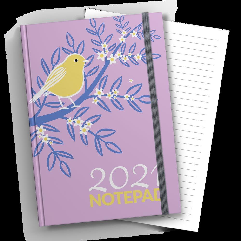 A4 Hardback Lined Notebook