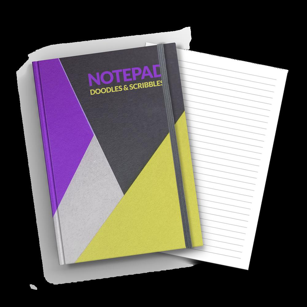 A5 Hardback Lined Notebook